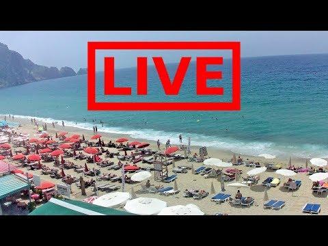 Live-Cam - Strandblick Alanya () vom Palmiye Beach Hotel