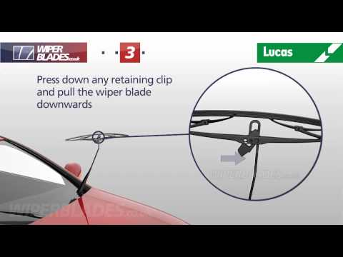 How to Fit Lucas Clearvision Retrofit Wiper Blades onto a 9×3 Hooked Shape Wiper Arm