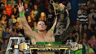 Resultados WWE Money In The Bank 2014 John Cena 15 VECES Campeón!