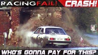Video WHO'S GONNA PAY FOR THIS CRASH? Rally Cars vs Houses... | RACINGFAIL MP3, 3GP, MP4, WEBM, AVI, FLV September 2018