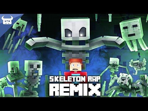"MINECRAFT SKELETON RAP REMIX | ""I've Got A Bone"" | Oxygen Beats Dan Bull Animated Music Video"