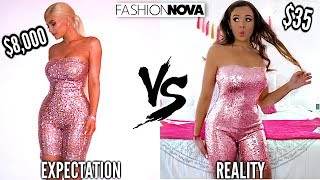 TRYING ON KYLIE JENNER'S OUTFITS FROM FASHION NOVA! by Krazyrayray