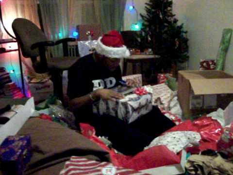 PS3 Christmas Gift Reaction
