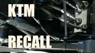 4. KTM 1190/1290 ABS Recall Fix | Back in the Garage