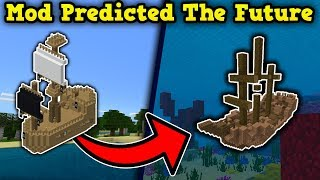 This Minecraft Mod PREDICTED THE FUTURE