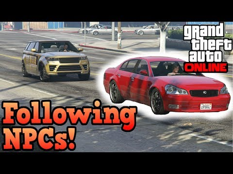 Download Where do NPC's walk/commute to in GTA Online? HD Mp4 3GP Video and MP3
