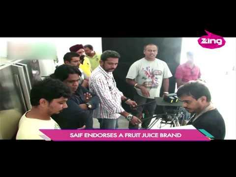 Saif Ali Khan promotes Healthy Living