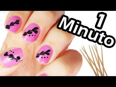nail art - risultato da urlo in 1 minuto!!!
