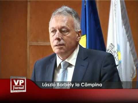 László Borbély la Câmpina