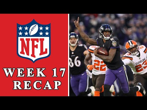 Video: NFL Week 17 Recap: Ravens' bet on Lamar Jackson pays off, AFC and NFC playoff preview