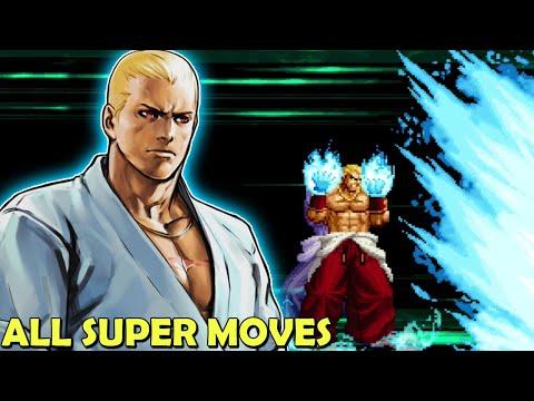 KOF 2002 UM Every Super Move SDM HSDM