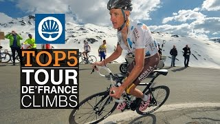 Top 5 - Tour de France Climbs