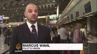 Germany's pilot strike grounds 1,500 flights