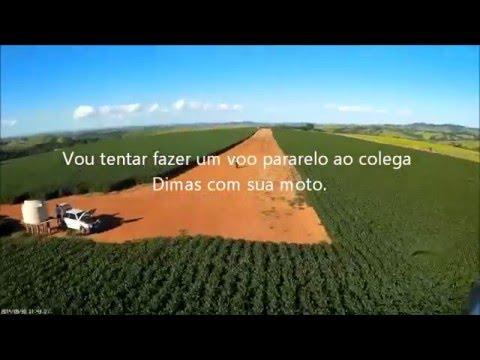 Voo FPV  asa zagi Pratápolis Pista de avião agricola.