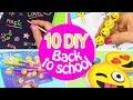 Download Lagu 10 DIY SCHOOL SUPPLIES! DIY BACK TO SCHOOL - INNOVA CRAFTS Mp3 Free
