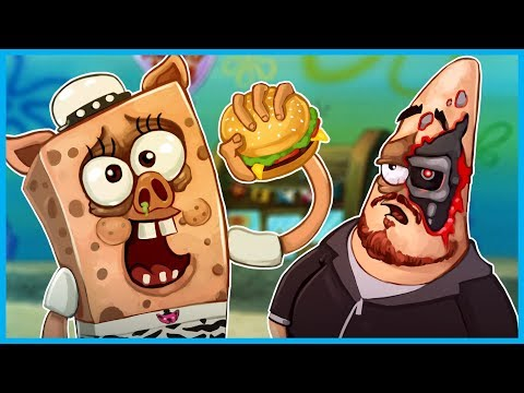 Garry's Mod Guess Who Funny Moments Spongebob Edition! - Death by Krabby Patty!