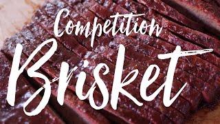 Competition Brisket Recipe