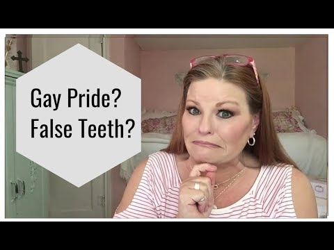 Gay Pride? False Teeth? Q&A!!!
