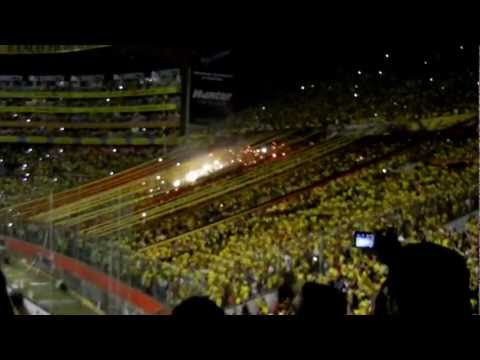 Barcelona S.C. (Ecuador) vs Gremio (Brazil) - September 26, 2012 - Sur Oscura - Barcelona Sporting Club