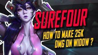 SUREFOUR BEST WIDOW? 25K DMG!! 40 KILLS!! [ OVERWATCH SEASON 5 TOP 500 ] ▻ Video Source : SureFour Twitch:...