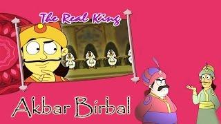 Akbar Birbal Animated Moral Stories || The Real King || Hindi Vol 2
