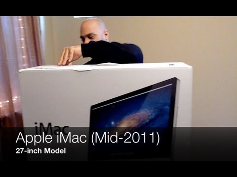 27inch - http://gear.lv/uFGDOx - In this episode we bring you an unboxing of the Apple iMac 27-inch 2011 model. The latest iMac offers a quad-core Intel Core i5 proce...