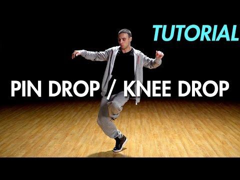 How to Pin Drop / Knee Drop (Hip Hop Dance Moves Tutorial: Breakdance) | Mihran Kirakosian