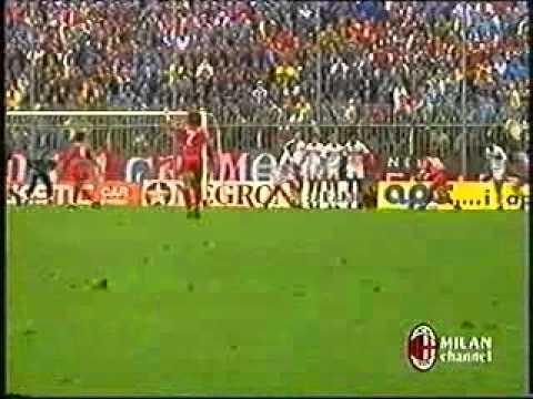 serie a 1989-90: cremonese - milan 1-0!