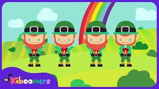 Dance Dance Leprechaun Dance | Saint Patrick's Day Song for Kids | The Kiboomers