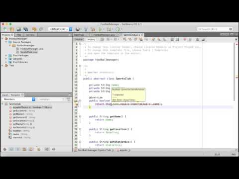 How To Create A Football Management System In Java Netbeans Using OOP