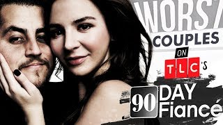 Video 10 Worst Couples on '90 Day Fiancé' | Where Are They Now? MP3, 3GP, MP4, WEBM, AVI, FLV Januari 2019