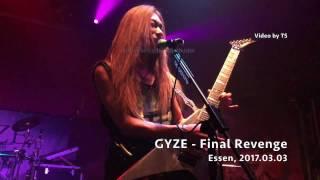GYZE - LIVE - Perryi Rain Dragon - Essen 2017.03.03 4K