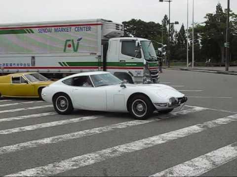トヨタ2000GTとロータスヨーロッパ