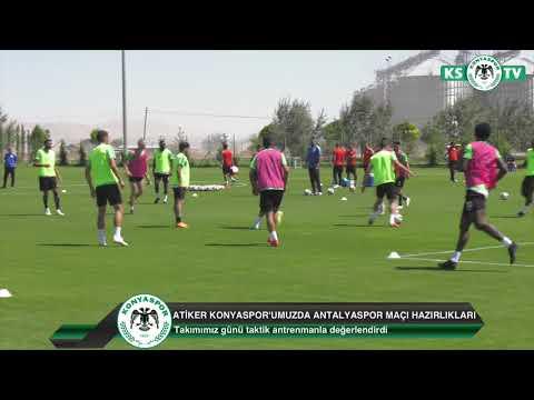 Takımımız Antalyaspor maçı hazırlıklarını taktik çalışma ile sürdürdü