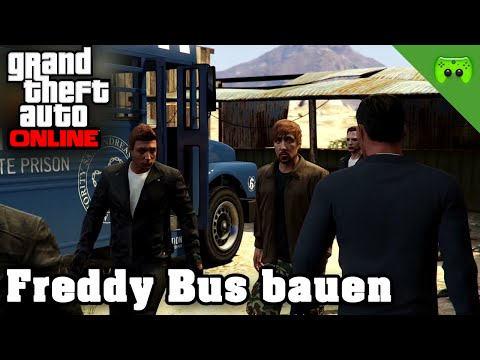 video gta online 77 freddy bus bauen let 39 s play grand theft auto online 60hd. Black Bedroom Furniture Sets. Home Design Ideas