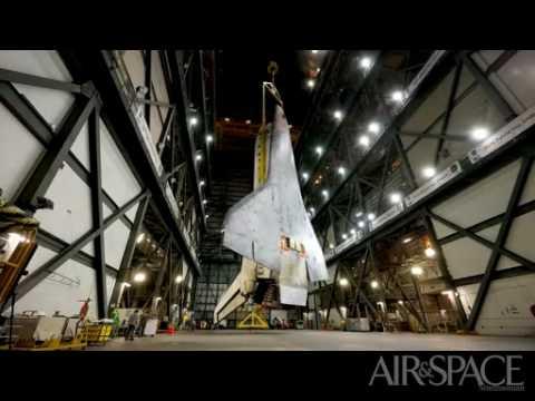 Preparación de un transbordador espacial