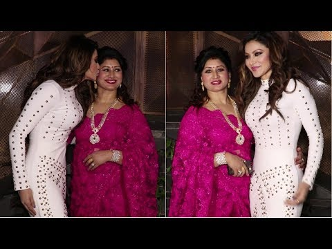 Urvashi Rautela & Her Mom Spotted At Tan Tana Tan