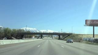SLC to Provo Time Lapse