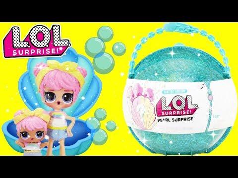 LOL Surprise PEARL SURPRISE with Dawn and Big Sister Dawn LOL Confetti Pop