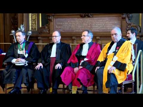 H.S.H. Prince Albert II is made Doctor Honoris Causa at the Sorbonne