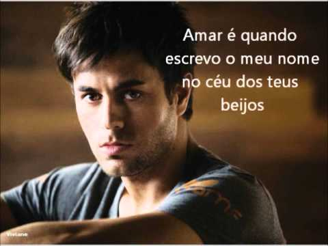 Enrique Iglesias - Amar É lyrics