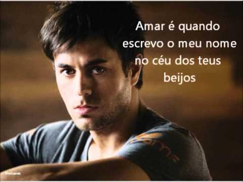 Tekst piosenki Enrique Iglesias - Amar É po polsku