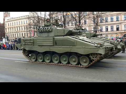 Military Parade in Riga, Latvia. 18.11.2017 (видео)