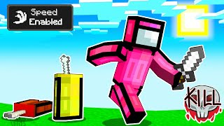 Using Speed Hacks In Minecraft Among Us