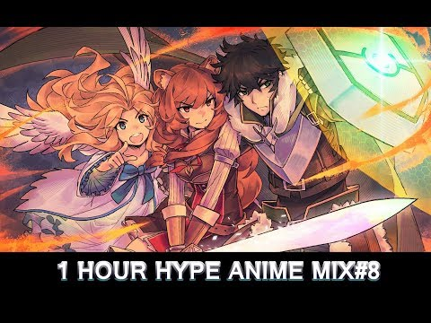 "1HR HYPE ANIME OPENINGS HD MIX#8 ლ(¯ロ¯""ლ)"