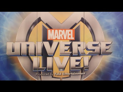 red carpet - Join Marvel on the red carpet for the premiere of Marvel Universe LIVE! at Barclays Center as we speak with actress Katie Holmes, professional basketball player Rajon Rondo, Project Runway...