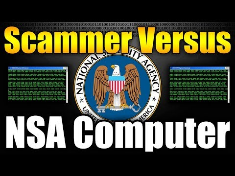 Scammer Versus NSA Computer | LOSES HIS SH*T | Tech Support Scammers EXPOSED!