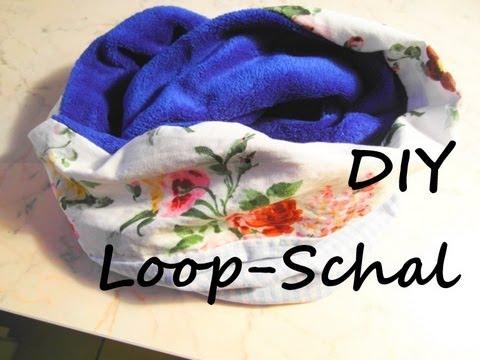 [DIY] Loop-Schal (Schlauchschal) selber nähen – [DIY Infinity Scarf/Loop Scarf]