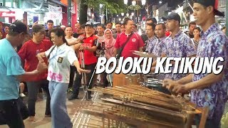 BOJOKU KETIKUNG - Carehal Angklung Malioboro (Pengamen Jogja Kreatif) Via Vallen / NDX AKA Video