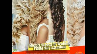 Hottest Prom & Bridal Hair Extension Styles